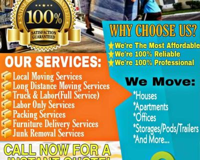 AFFORDABLE 24HR MOVING SERVICES