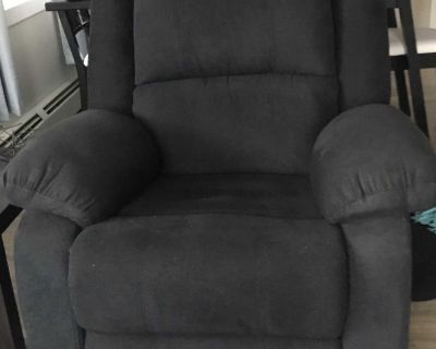 Rocker recliner (I have two of these chairs ) I f you re interested in both, I could do a bit better.