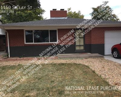 Rent to Own in Denver with $18,000 Down - No Banks - EZ Credit Qualify
