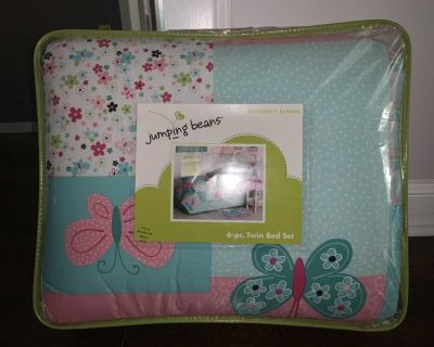 Jumping Beans Twin Size Comforter Set For Girls