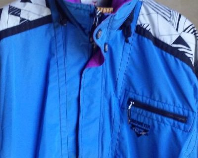 Vibrant Obermeyer Pinnacle Out of Bounds Multi-Color Ski Jacket
