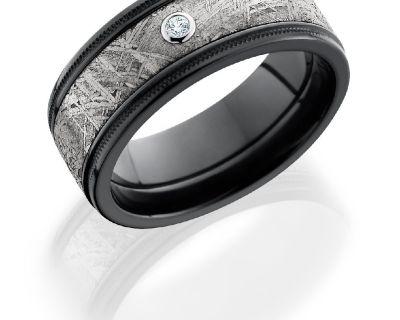 Meteorite Rings - Magic Hands Jewelry