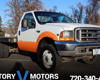1999 Ford Super Duty F-550 Chassis Cab XL