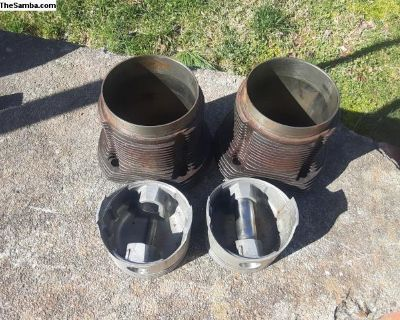 Spare 92mm Pistons/Cylinders