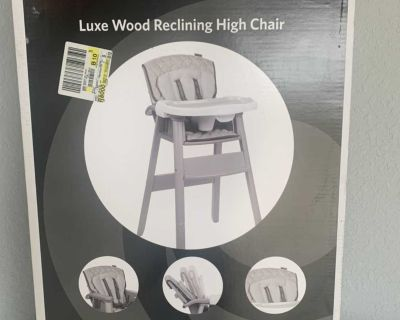 Brand new in Box Wood High Chair
