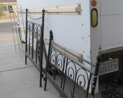 Double Bed Frame with side rails