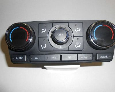 2008 Nissan Altima Oem Climate Control Heater A/c Free Shipping!