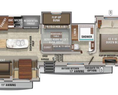 2021 Jayco North Point 377RLBH