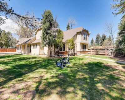 Broadmoor Estate HotTub & Fire Pit Prime Location - Southwest Colorado Springs