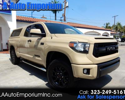 Used 2016 Toyota Tundra 4WD Truck Double Cab 5.7L FFV V8 6-Spd AT TRD Pro (Natl)