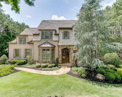 RSVP REQ: Come Find Your PERFECT PIECE at this STUNNING Home in The River Club in Suwanee!