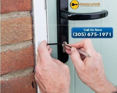 Hire Miami's Fastest Locksmith at affordable price