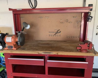 Stack on tool bench $100 obo
