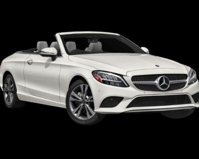 New 2021 Mercedes-Benz C 300 4MATIC CABRIOLET