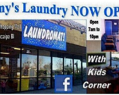 Laundromat yucaipa blvd and 5th street
