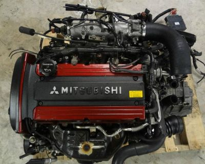 JDM Mitsubishi lancer Evo 8 Engine JDM 4G63 Evo VIII Differential brembo