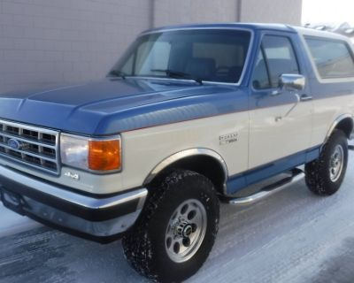 1988 FORD BRONCO 4X4 XLT XLT FOUR WHEEL DRIVE 91000