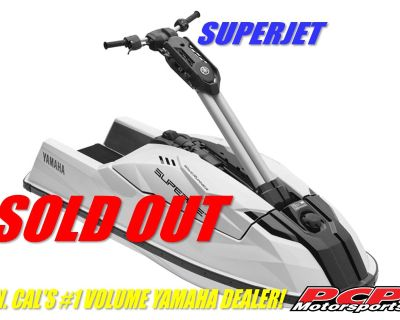 2021 Yamaha SuperJet PWC Single Sacramento, CA
