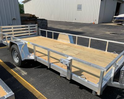 2021 Quality Trailers 74X14 DROP AXLE Cargo Trailers Belvidere, IL