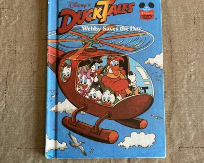 Duck Tales Vintage Disney Children s Book