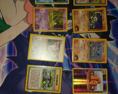 all my holos,promos, and original and old set cards