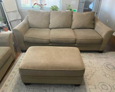 Couch, Loveseat, and Ottoman