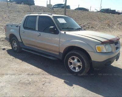 Salvage Gold 2004 Ford Explorer Sport Trac