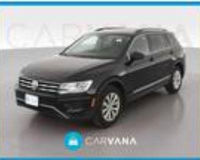 2018 Volkswagen Tiguan Black, 77K miles