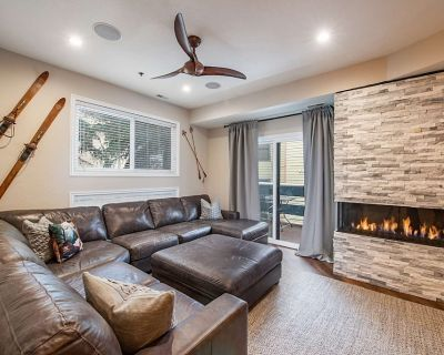 *FREE PADDLE BOARDING * Newly UPDATED Home, No Car Needed 200 Yards to Lift, Shared Hot Tubs - Downtown Park City