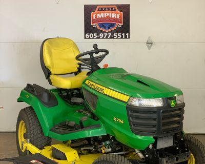 2014 John Deere X734 Lawn Tractors Sioux Falls, SD