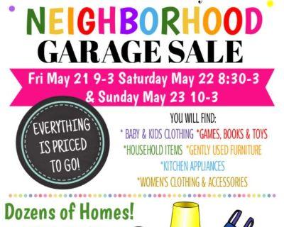 Briercliff NEIGHBORHOOD 16th Annual Garage Sale