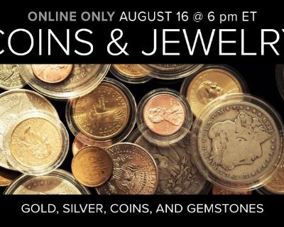 Jewelry, Coins, and Collectibles Auction
