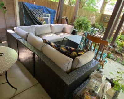 Outdoor Furniture and indoor artwork!