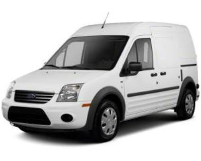 2010 Ford Transit Connect Van XLT with rear door privacy glass