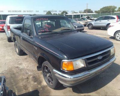 Salvage Black 1996 Ford Ranger