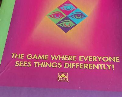 Picture picture vintage board game
