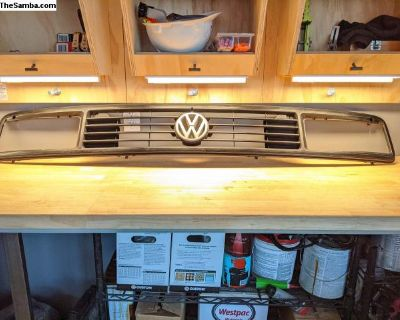 late vanagon front grille and lights