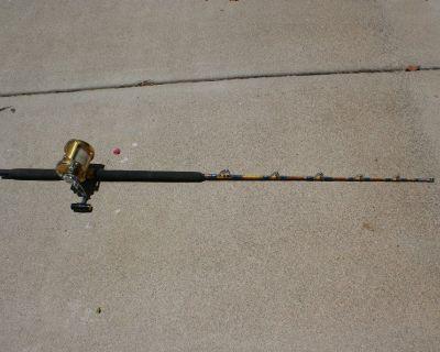 Penn Deep sea rod and reel