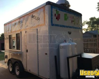 Wells Cargo 8' x 14' Kitchen Food Trailer/Used Mobile Food Unit