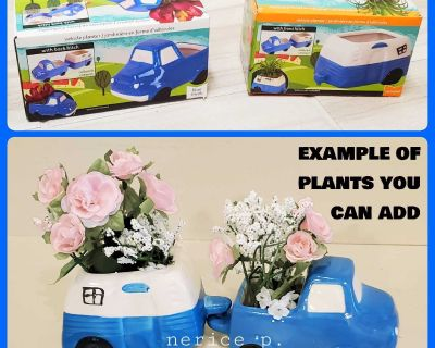 Truck and Trailer Hitch Planters, Plant Holders