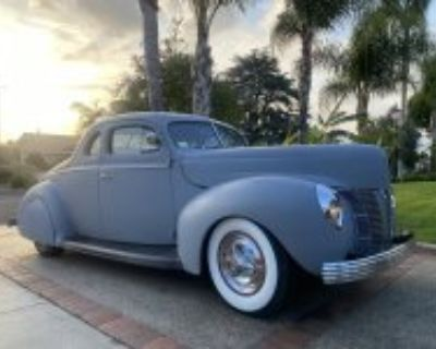 1940 Ford Deluxe Coupe Chopped Early Custom (SOLD!)