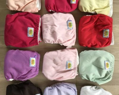 AMP all in one Newborn Cloth Diapers (12)