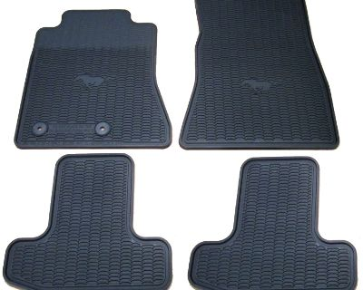 RPI Designs 2015 Ford Mustang All Weather Floor Mats Package