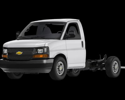 New 2021 Chevrolet Express Commercial Cutaway Work Van