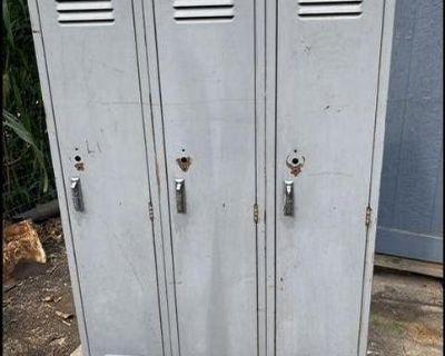 Vintage school lockers