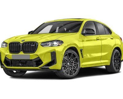 New 2022 BMW X4 M AWD SUV