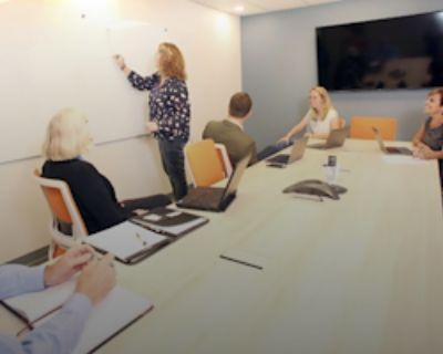 Private Meeting Room for 10 at Office Evolution - Carmel
