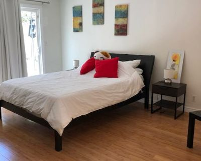 Private Master Bed & Bath for Rent in a Large Home