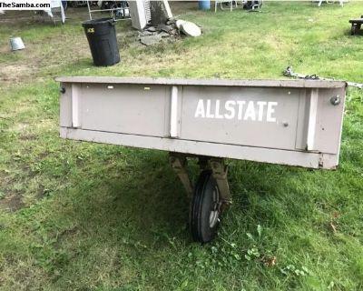 Allstate single wheel trailer....