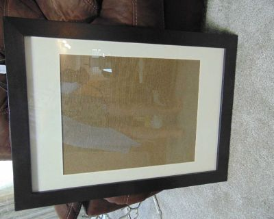 Large wood IKEA picture frame